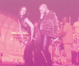 Drake, rihanna, and rosa image