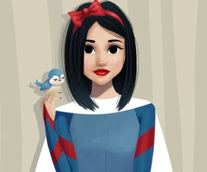 art, disney, and snowwhite image