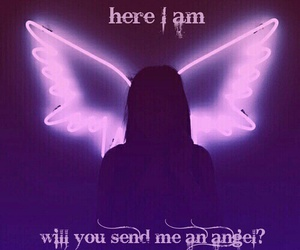 angel, Lyrics, and music image