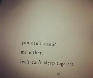 sleep, love, and quotes image