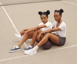 natural hair and black girls image