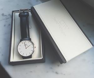 clock, black, and dw image
