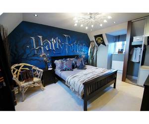 harry potter, bedroom, and room image
