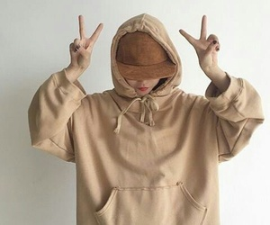 beige, aesthetic, and brown image