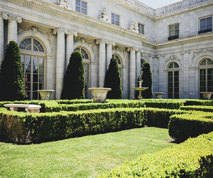 architecture, garden, and luxury image