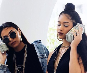 money, fashion, and friends image