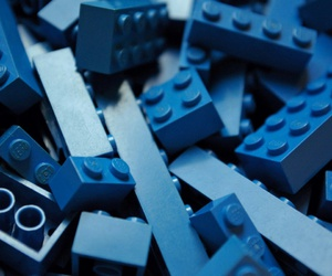 blue and lego image