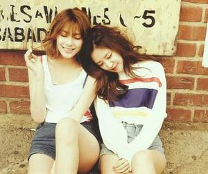 hayoung, naeun, and apink image