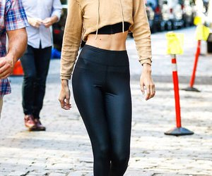 outfit, street style, and gigi hadid image