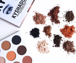 makeup, kylie jenner, and kyshadow image