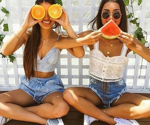 beautiful, summer, and friends image