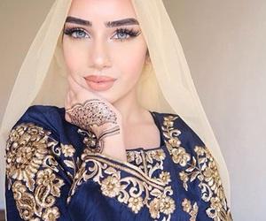 beautiful, eyes, and henna image