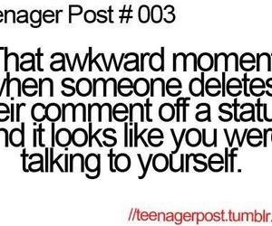 funny, teenager post, and awkward image