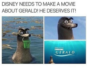 disney, funny, and gerald image