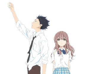 koe no katachi, shouya ishida, and shouko nishimiya image