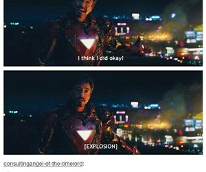 funny, iron man, and life image