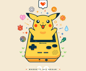 pikachu, pokemon, and games image