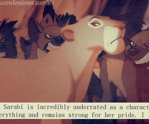 lion, respect, and women image