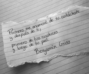 love, frases, and benjamin griss image