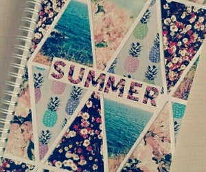 summer, diy, and notebook image