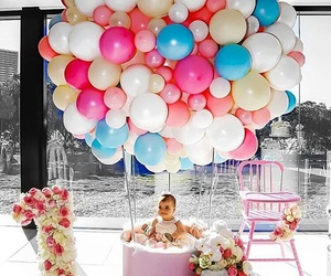 balloons baby cute image