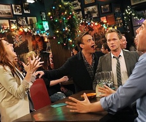 how i met your mother, alyson hannigan, and Barney Stinson image