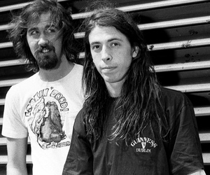dave grohl, nirvana, and krist novoselic image