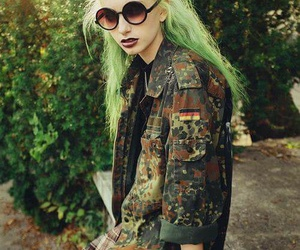 cool, hair, and sunglases image