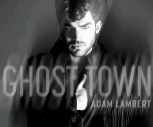 adam lambert and ghost town image