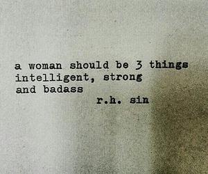 quotes, badass, and intelligent image