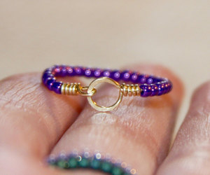 etsy, body jewelry, and gold ring image