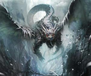 dragon and fantasy image