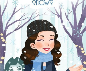 gilmore girls, quote, and snow image