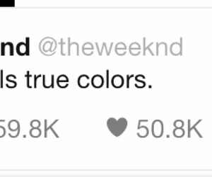 feature, tweet, and the weeknd image