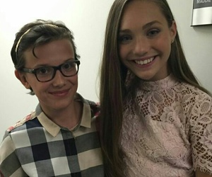stranger things, millie brown, and maddie ziegler image