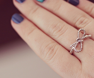 ring, nails, and bow image