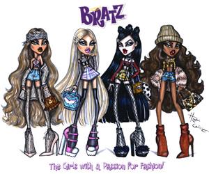 bratz, fashion, and art image