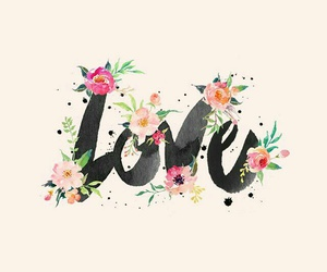 wallpaper, love, and flowers image