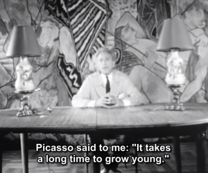 grow up, picasso, and young image