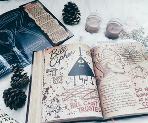 gravity falls and book image
