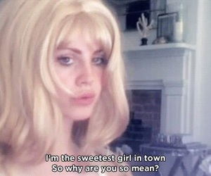 aesthetic, lana del rey, and cute image