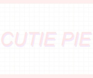 pink and cute pie image