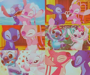 stitch, disney, and love image