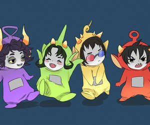 homestuck and anime image