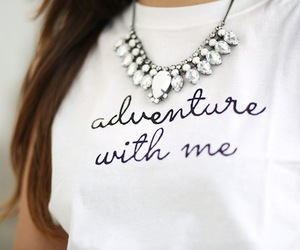 fashion, adventure, and necklace image