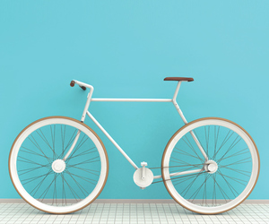 bike, aesthetic, and pastel image