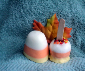 candy apple, fake food, and etsy image