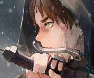 anime, battle, and titan image