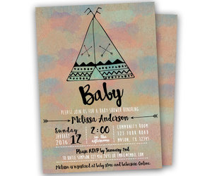 etsy, boy baby shower, and baby shower invite image