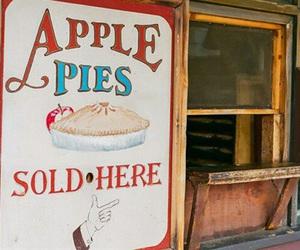 apple, Apple Pie, and vintage image